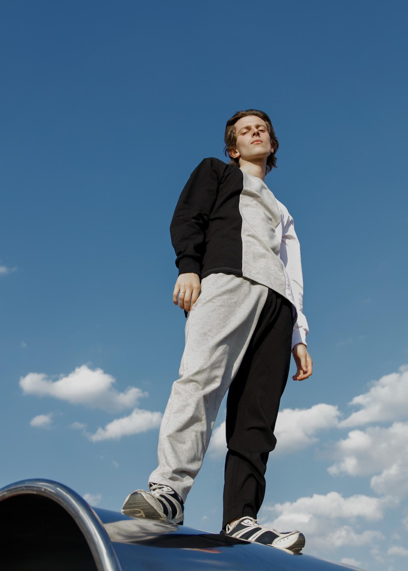 Safety Color block sport pants [SALE -30%]