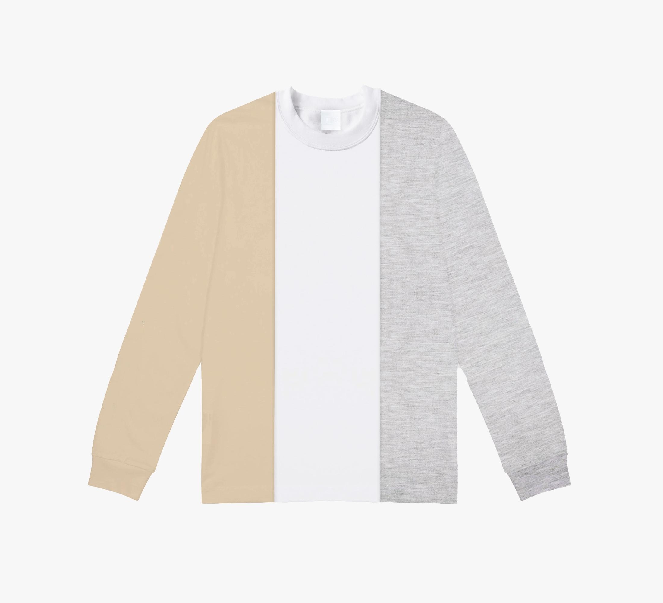 Balance Color block sweatshirt
